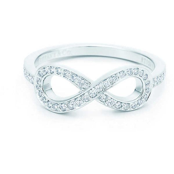 Tiffany Infinity Ring (3 385 AUD) found on Polyvore featuring women's fashion, jewelry, rings, accessories, bijoux, tiffany co rings, infinity jewelry, infinity ring, tiffany co jewellery and tiffany co jewelry