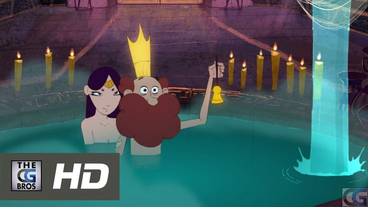 """CGI 2D Animated Short HD: """"Heavy Crown"""" - by Ahmed Al Hasnawi"""
