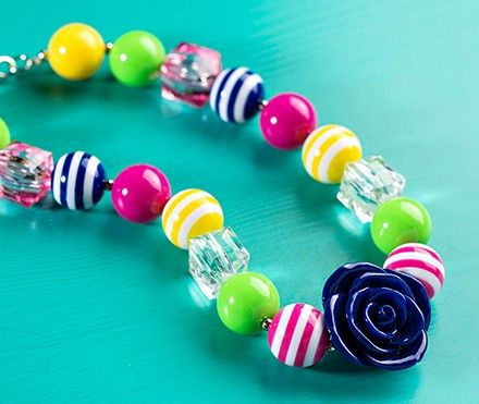 How to make a chunky beaded necklace