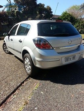 2008 Holden Astra AH CD MY08