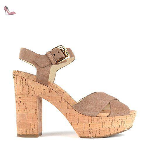 MICHAEL Michael Kors Natalia Sandales, Femme 41 EU Dark Khaki - Chaussures michael kors (*Partner-Link)