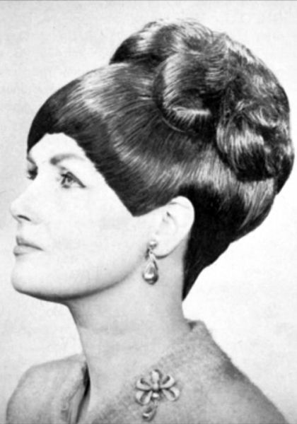 The 553 best 1960s hair images on Pinterest   Retro hair, Retro ...