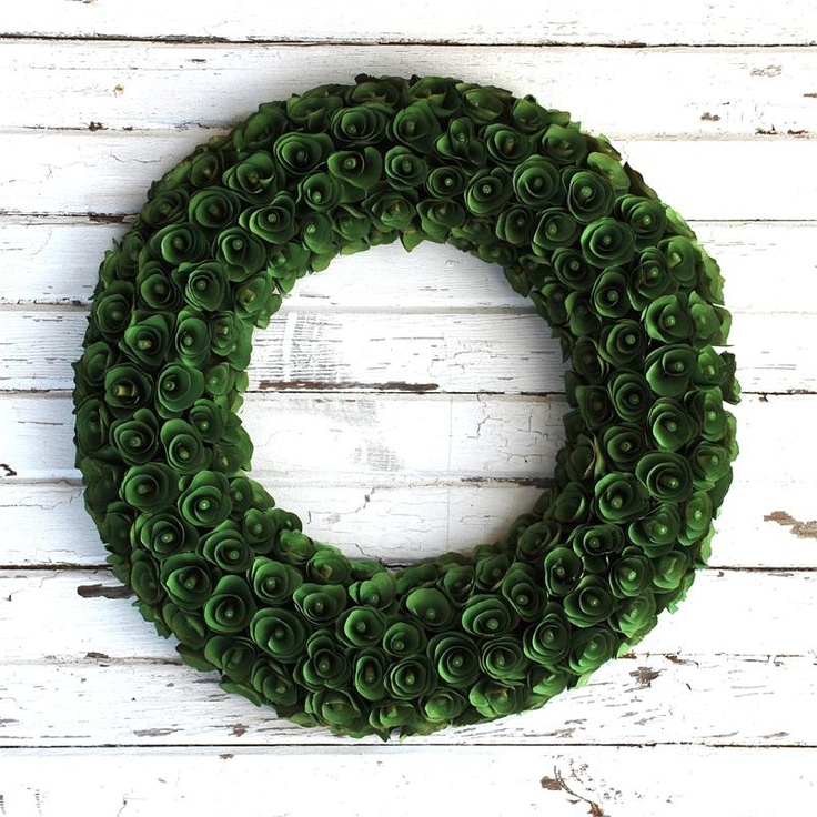 1000 Images About Wood Curl Wreath On Pinterest