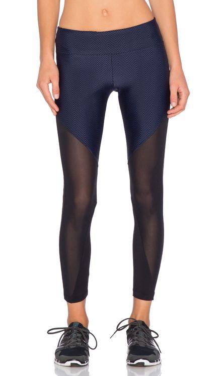 koral activewear Gi Lucent Legging in Navy & Black
