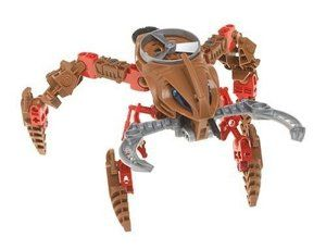LEGO BIONICLE® Visorak Roporak  by LEGO. $24.95. Jaws snap shut. Visorak measures over 7 inches/17 cm wide by 5 inches/12 cm long!Jaws snap shut!. Rhotuka spinner launches up to 50 feet/15 metres. Includes building instructions to combine with #8746 Keelerak to make Chute Lurker. Amazon.com                There's always so much more to a Lego Bionicle toy than simply the item that gets assembled by putting together what is in this case 47 separate pie...