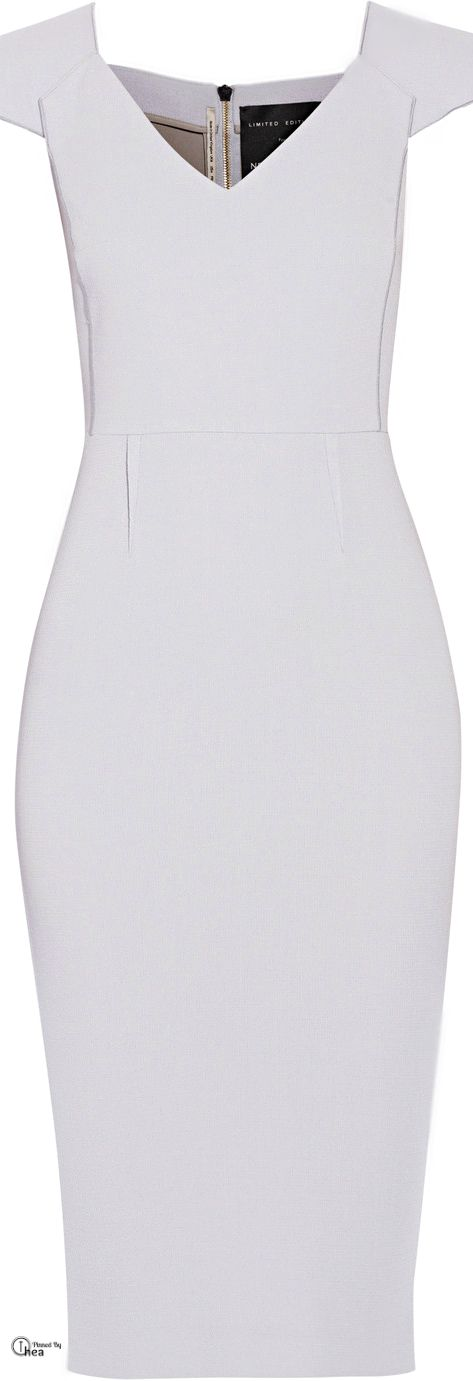 Roland Mouret ● Atria crepe dress
