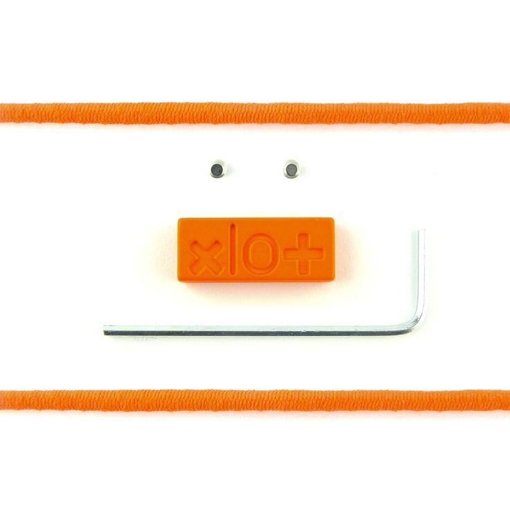 Mattoncino #xlo+ special arancio fluo $33.45