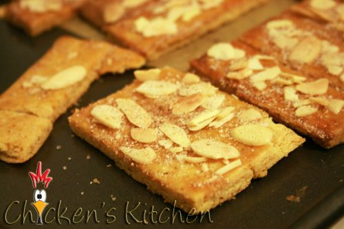 Jan Hagel cookies are a traditional Dutch holiday sweet.  They are very thin, light and flaky.