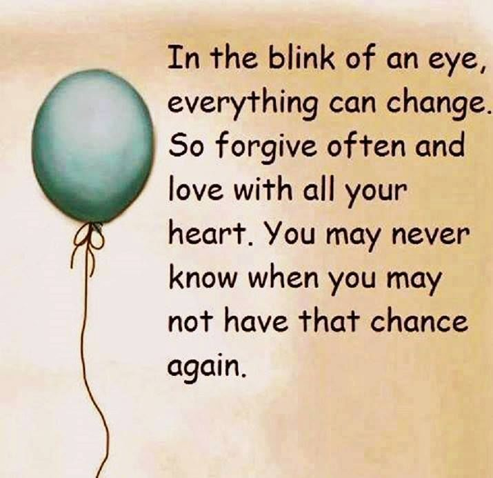 In The Blink Of An Eye Everything Can Change Life Quotes Quotes Quote Life  Quote Truth