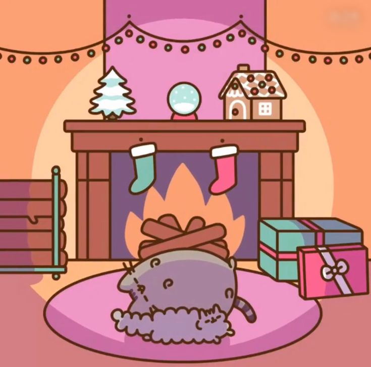 Pusheen and Stormy