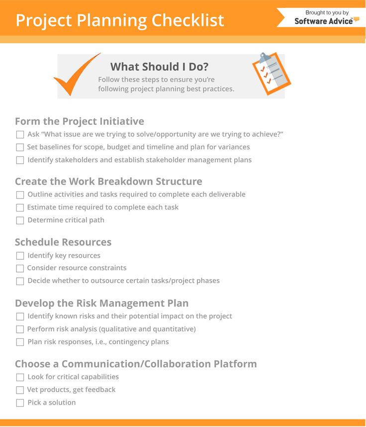 Project Planning Checklist: 5 Steps Every Project Plan Should Follow