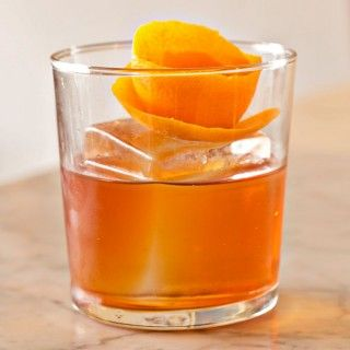 Low Calorie Whiskey Cocktail: Old Fashioned - Low Calorie Cocktails - Shape Magazine