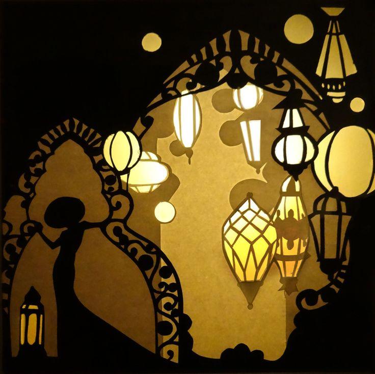 Cut Paper Light Box Gallery - by Brandin Hurley