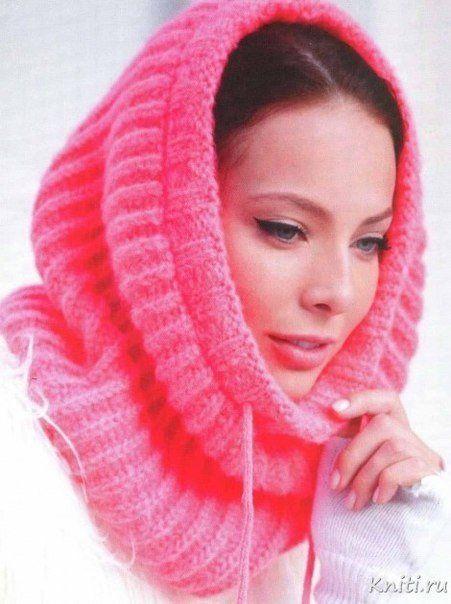 Вязаный шарф-хомут - красота для осени  Нет такой красоты еще у вас? Тогда самое время связать шарф-хомут для осени и зимы. Он украсит и согреет вас!