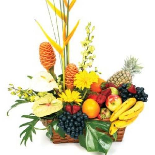 Fruit Flower Baskets Saskatoon : Best images about fruits and flower arrangement on