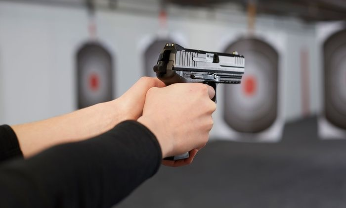 The Shootist - Broadway: Shooting-Range Package at The Shootist (Up to 56% Off). Four Options Available.