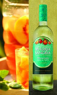 Madria Sangria - Simple White Peachy Sangria Recipe