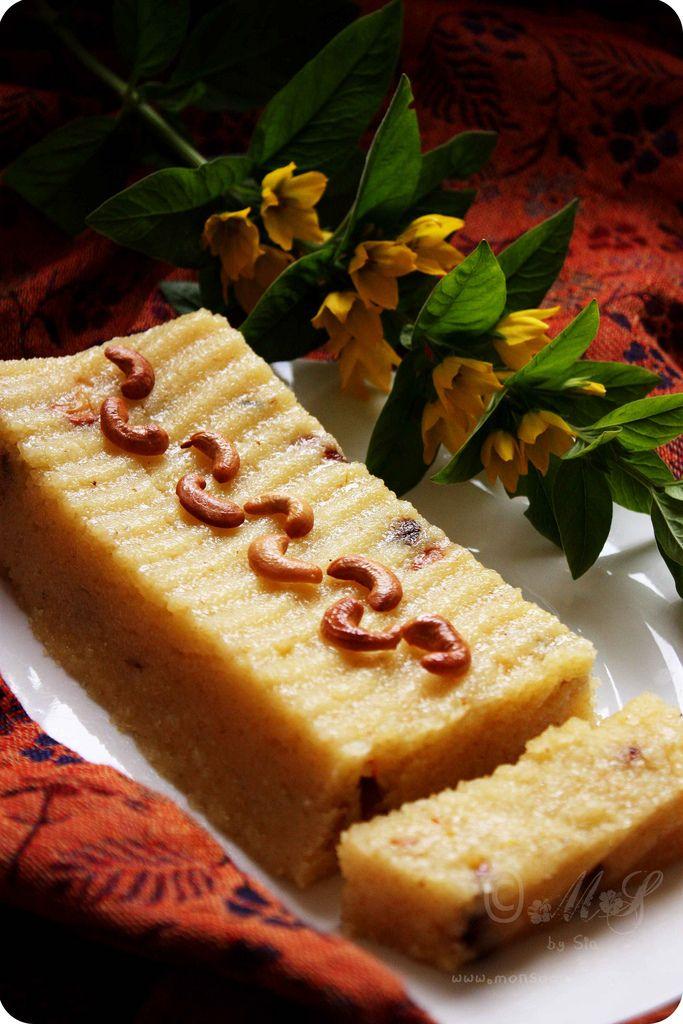 Kesari Bhath (Semolina pudding) #recipe #pudding. Used 1/2 cup sugar & 3tsp of ghee in last step.