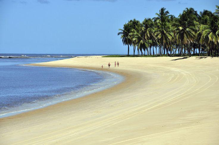 Praia do Gunga, Barra de São Miguel, Alagoas