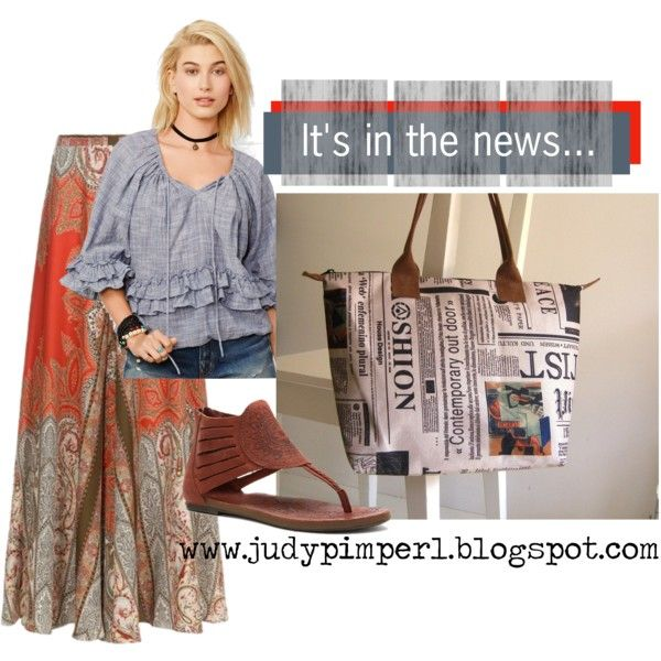 It's in the news... by judypimperl on Polyvore featuring Denim & Supply by Ralph Lauren and Cushe