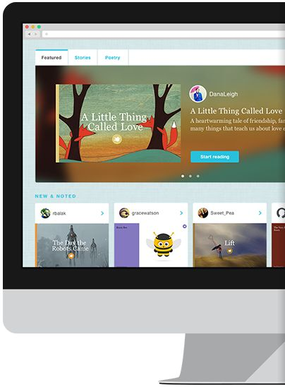 Storybirds are short, visual stories to make and share with family and friends.
