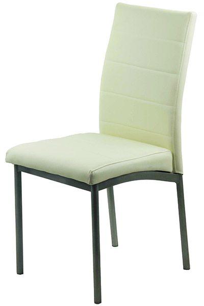 Scaunele de living BUC 255 sunt confectionate dintr-un cadrul din otel vopsit in camp electrostatic in culoarea gri, iar sezutul si spatarul sunt tapitate cu piele ecologica.  Pentru detalii suplimentare vizitati-ne la adresa http://www.scauneonline.ro/scaune-living-buc-255/