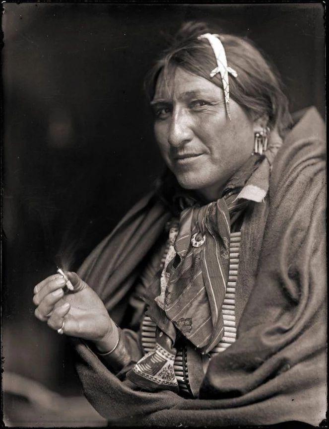 Sioux Indian Chief Joe Black Fox, 1898, by Gertrude Käsebier.