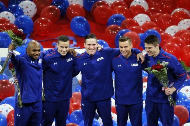 US gymnastics team 2016     US Men's Gymnastics 2016: Meet the Team Headed to Rio   Bleacher ...