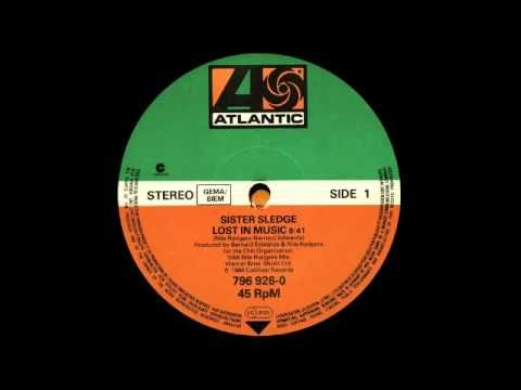 "Sister Sledge ""Lost In Music"" (1979) — Nile Rogers & Bernard Edwards Remix (1984)"