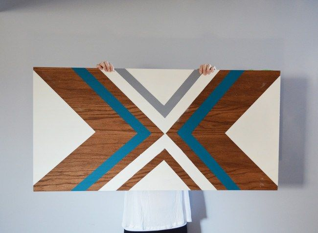 DIY Plywood Wall Art