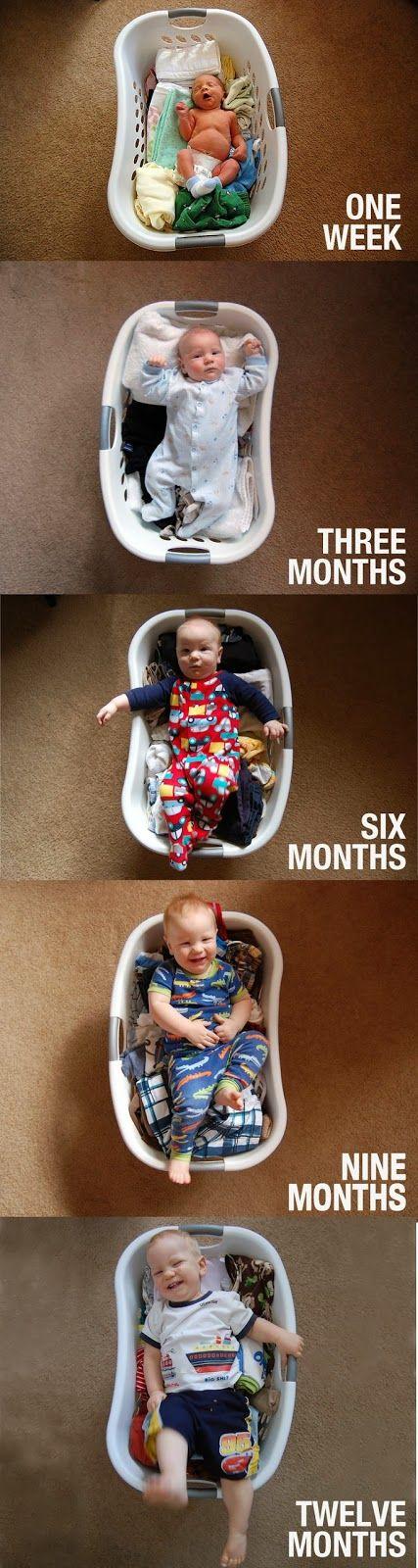 Uma coisa que eu acho super bacana é registrar as fases e o crescimento dos bebês através de imagens, de fotos criativas e divertidas que ficam para sempre e que irão nos encantar por anos e anos.  E, pensando nisso, montei o post de hoje. Nele trago sete ideias que registram direitinho a passagem