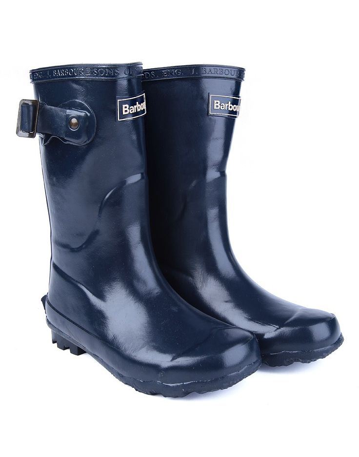 Barbour Kids' Bede Wellington Boots - Navy CRF0009NY71