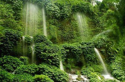 PERGIPEDIA  - Air Terjun Benang Kelambu Dan Benang Alami Yang Bikin…
