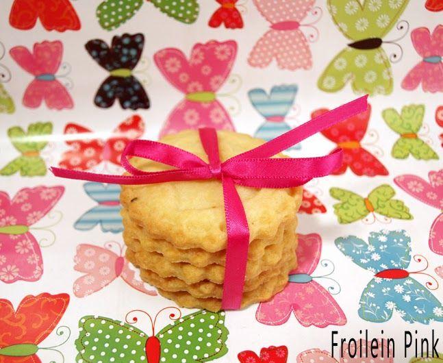 Butterkekse Eulen Froilein Pink