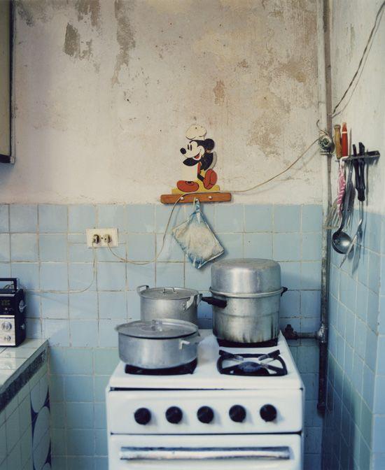 'Dream Girls', Stove and Mickey  (Cuba) | Nadav Kander 1998