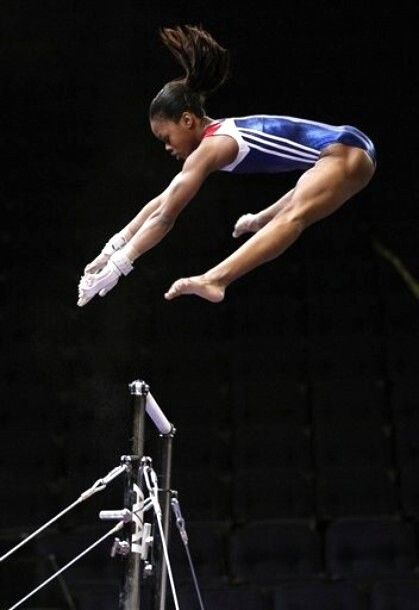 Gabby Douglas --- There's just not an ounce of her that isn't rock solid!  You go Gabby!