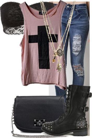 Trendy Fashion Edgy Rocker Combat Boots 63+ Ideas