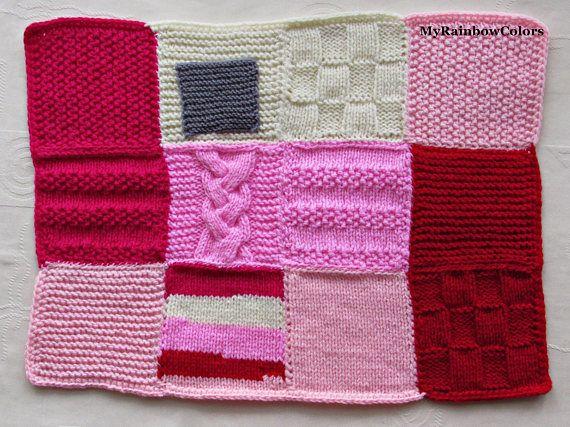 Fidget Quilt Sensory Blanket Fidget Blanket Knit Alzheimer