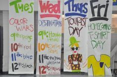 High School Spirit Week Ideas
