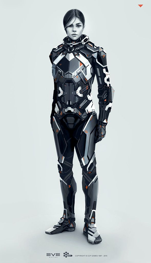 Eve Online - Combat Suit - Concept Art, Andrei Cristea on ArtStation at https://www.artstation.com/artwork/4yb0k