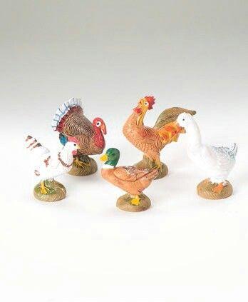 Bethlehem Birds, 5 pc set. 51516.