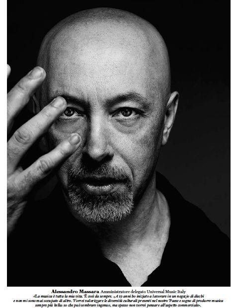 "Alessandro Massara - Rolling Stone Italy ""The 100 Faces of Italian Music"""