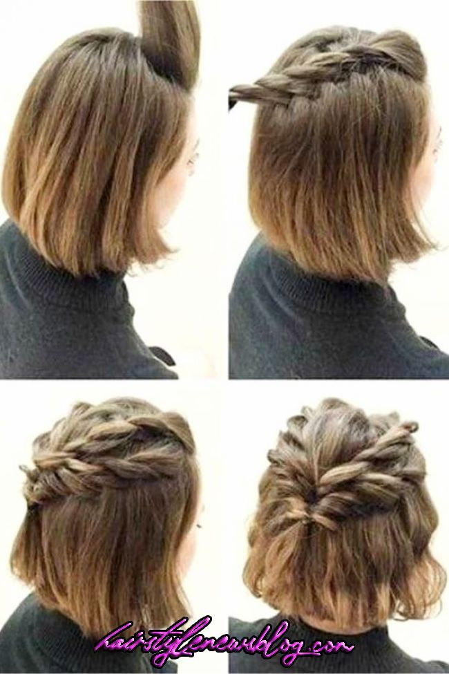 10 Easy Lazy Girl Hairstyle Ideas Step By Step Video Tutorials For Lazy Day Running L Lazy Girl Hairstyles Easy Hairstyle Video Prom Hairstyles For Short Hair