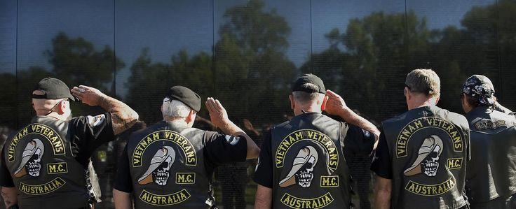 Veterans Day - Australian Army veterans salute a fallen