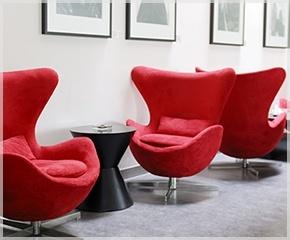 Cadeiras Egg na Decoração: Cadeiras Para, Cadeira Eggs, Cadeiras Eggs