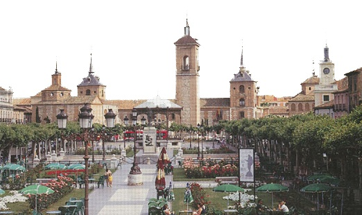 Alcala de Henares, Spain. I lived here as a child and want to go back to visit someday.