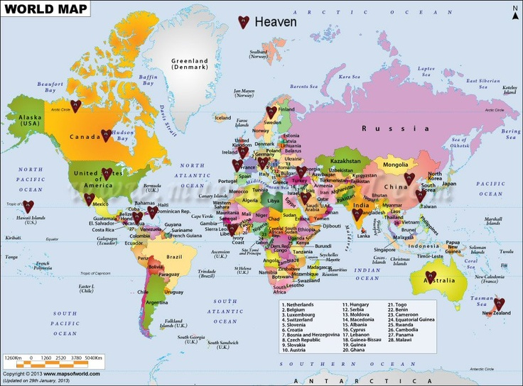 World Locations!
