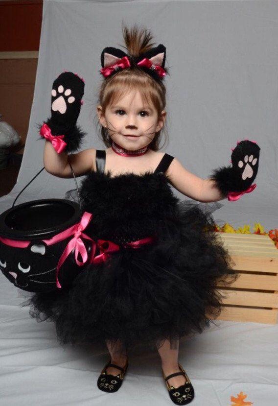 the alora cat costume toddler halloween costume black toddler tutu black cat - Halloween Costumes For Preschoolers