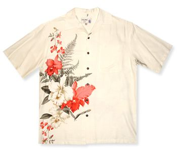 Cattleya Cream Hawaiian Shirt Hawaiian Shirts For Men Pinterest