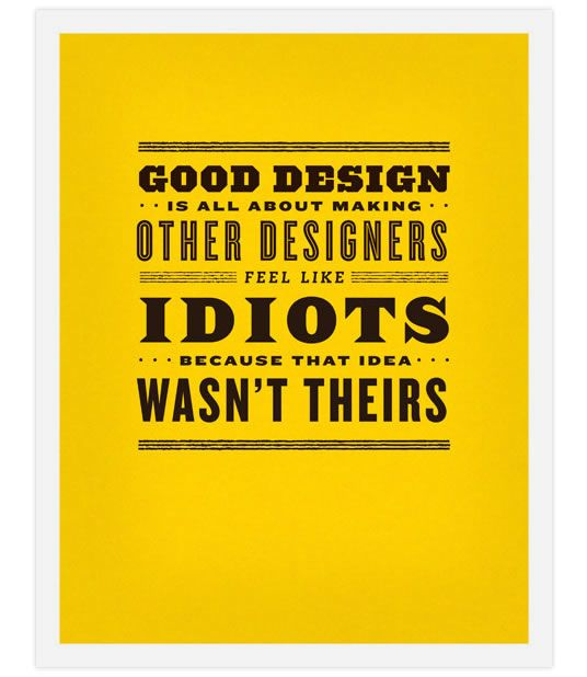 Inspirational Design Posters from Illustrator Super Star, Frank Chimero #hero
